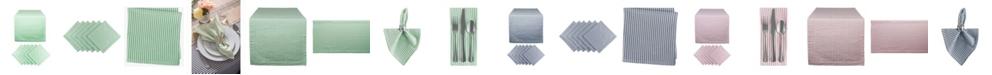 Design Import Seersucker Table Set of 7