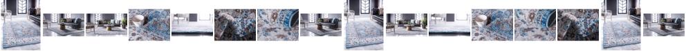 Bridgeport Home Wisdom Wis2 Light Blue Area Rug Collection