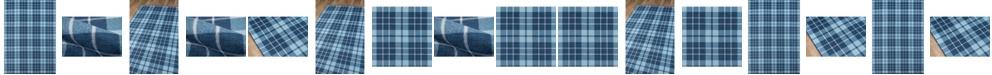 Novogratz District Dis-9 Blue Area Rug Collection