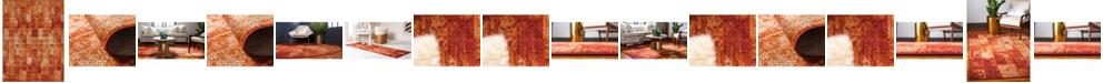 Bridgeport Home Jasia Jas07 Terracotta Area Rug Collection