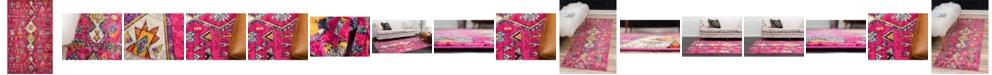 Bridgeport Home Arcata Arc1 Pink Area Rug Collection