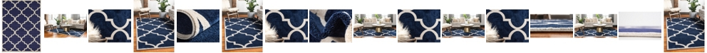 Bridgeport Home Arbor Arb3 Navy Blue Area Rug Collection