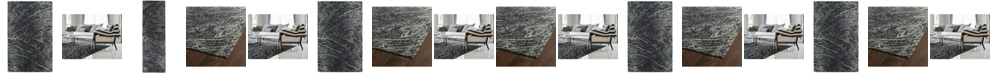 Kaleen Brushstrokes Charcoal Area Rug Collection