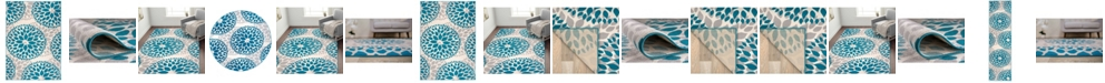 Main Street Rugs Home Haven Hav9099 Blue Area Rug Collection