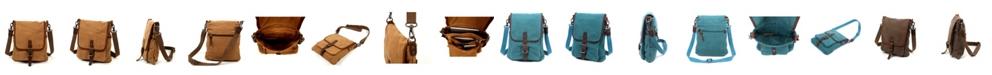 TSD BRAND Valley Vista Canvas Crossbody Bag