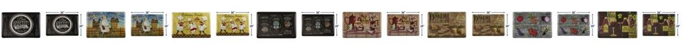 Ornavo Home Non Slip Premium Printed Memory Foam Kitchen Mat