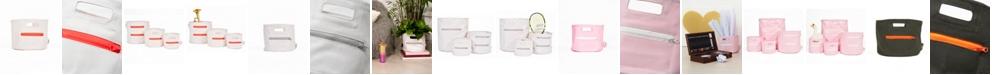 Mimish Medium Canvas Storage Bin with Zipper Pocket