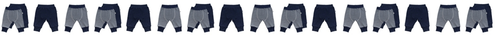 Mac & Moon Mac and Moon 2-Pack Navy and Striped Pants