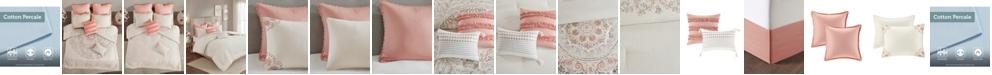 JLA Home Madison Park Elise King 8 Piece Cotton Printed Reversible Comforter Set