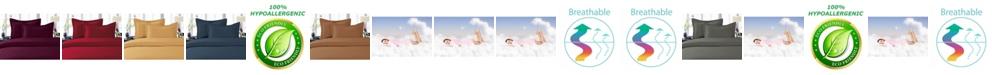 Elegant Comfort Luxurious Silky - Soft Wrinkle Free 3-Piece Duvet Cover Set, Full/Queen