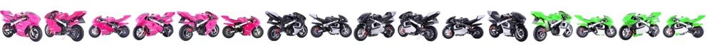 MotoTec Gbmoto Gas 40CC 4-Stroke Pocket Bike