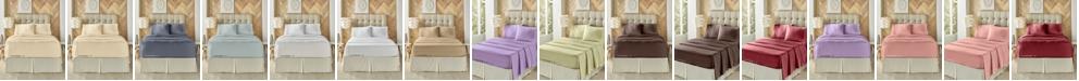 J Queen New York J. Queen New York Royal Fit 300 TC Cotton-blend Full Sheet Set