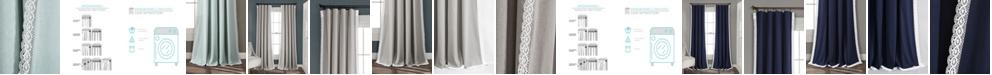 "Lush Decor Rosalie Lace Trim 84""x54"" Window Panel Set"
