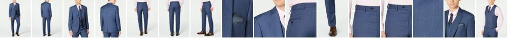 Lauren Ralph Lauren Men's Classic-Fit UltraFlex Stretch Blue Birdseye Suit Separates