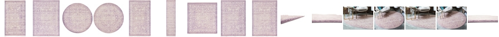 Bridgeport Home Norston Nor1 Purple Area Rug Collection