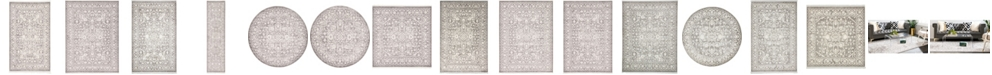 Bridgeport Home Norston Nor1 Gray Area Rug Collection