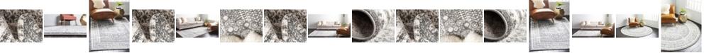 Bridgeport Home Mishti Mis1 Gray Area Rug Collection