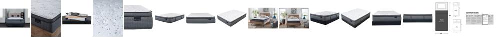 "King Koil Luxury Prescott 15"" Plush Pillow Top Mattress Set- Twin"