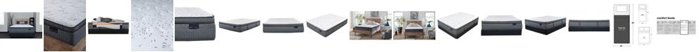 """King Koil Luxury Prescott 15"""" Plush Pillow Top Mattress Set- Twin XL"""
