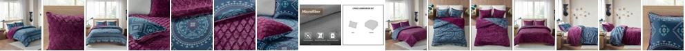 Intelligent Design Ripley 2-Piece Reversible Twin Comforter Set