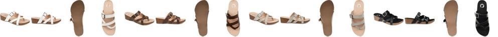 Journee Collection Women's Madrid Wedge Sandal