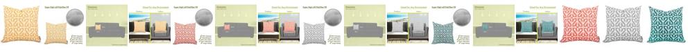 "Majestic Home Goods Aruba Decorative Soft Throw Pillow Large 20"" x 20"""