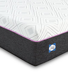 Sealy to Go 10'' Hybrid Cushion Firm Mattress, Quick Ship, Mattress in a Box- Full