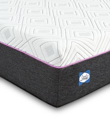 Sealy to Go 10'' Hybrid Cushion Firm Mattress, Quick Ship, Mattress in a Box- Twin XL
