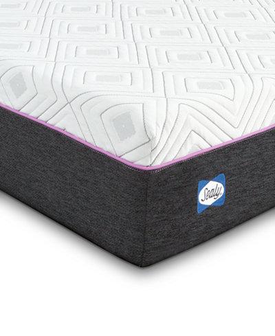 Sealy to Go 10'' Hybrid Cushion Firm Mattress, Quick Ship, Mattress in a Box- Twin