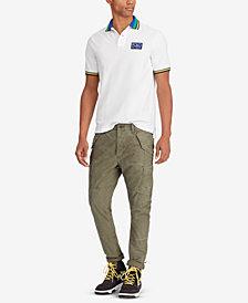 Polo Ralph Lauren Men's Hi Tech Mesh Cotton Classic Fit Polo