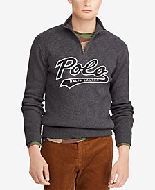 Polo Ralph Lauren Men's Cotton Half-Zip Sweater