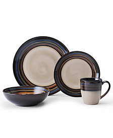 Pfaltzgraff Galaxy Red 16-Pc. Dinnerware Set