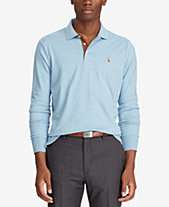 Polo Ralph Lauren Men s Classic-Fit Long Sleeve Soft-Touch Polo ffc2748ff474