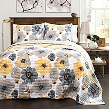 Leah Full/Queen Quilt 3Pc Set