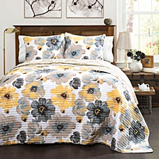Leah King Quilt 3Pc Set