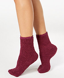 Charter Club Women's Lace-Trim Supersoft Socks, Created for Macy's