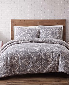 Brooklyn Loom Sand Washed Cotton King Comforter Set