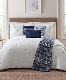 Jennifer Adams Towson Full/Queen 7 Pc Comforter Set