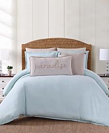Chambray Coast King 3 Piece Comforter Set