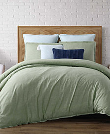 Brooklyn Loom Chambray Loft King 3 Piece Comforter Set