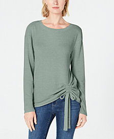 I.N.C. Ruched Top, Created for Macy's