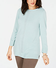 Karen Scott Luxsoft Sweater, Created for Macy's