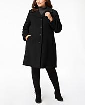 afe73cd37c2 Plus Size Coats - Macy's