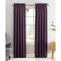Deals on Sun Zero Grant Room Darkening Pole Top 54 x 63-in Curtain Panel