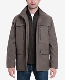 MICHAEL Michael Kors Men's Wool Blend Coat