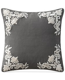 Lyssa Embroidered 18x18 Pillow