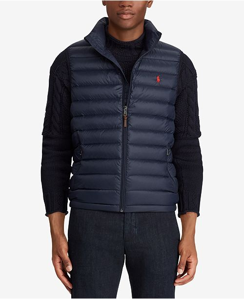 b2f6cfec1592 Polo Ralph Lauren Men s Big   Tall Packable Down Vest   Reviews ...