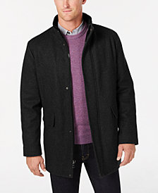 Calvin Klein Men's Wool Blend Car Coat