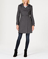 Tommy Hilfiger Double-Breasted Peacoat d0a33050c8