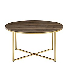 """36"""" Coffee Table with X-Base"""